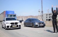 Mercedes-Benz-AMG-E63S-vs-BMW-X5M-vs-Mitsubishi-Evolution-9