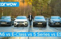 Audi-A6-vs-BMW-5-Series-vs-Mercedes-E-Class-vs-Lexus-ES-which-is-best